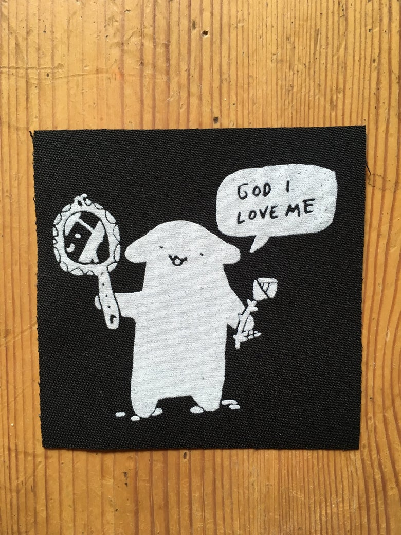 Image of God I Love Me patch