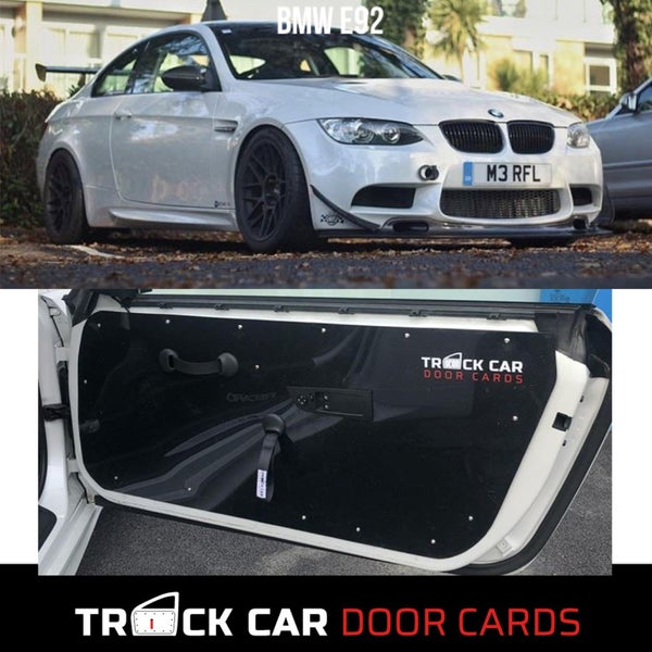 Image of BMW E92/E93 Track Car Door Cards