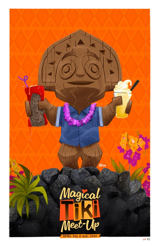 Image of Magical Tiki Meet-Up 2019 Poster