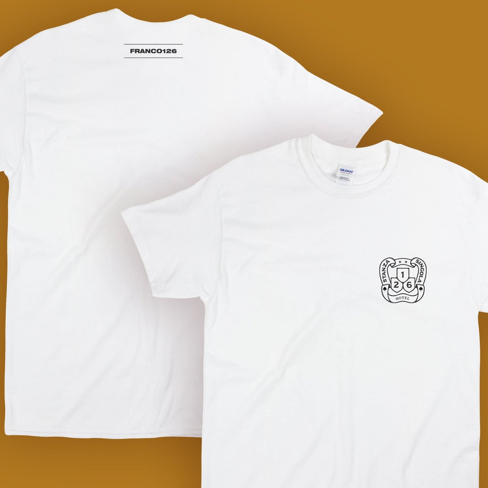 Image of Franco126: Stanza Singola T-Shirt (bianco)