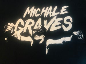 Image of Michale Graves Large Backpatch