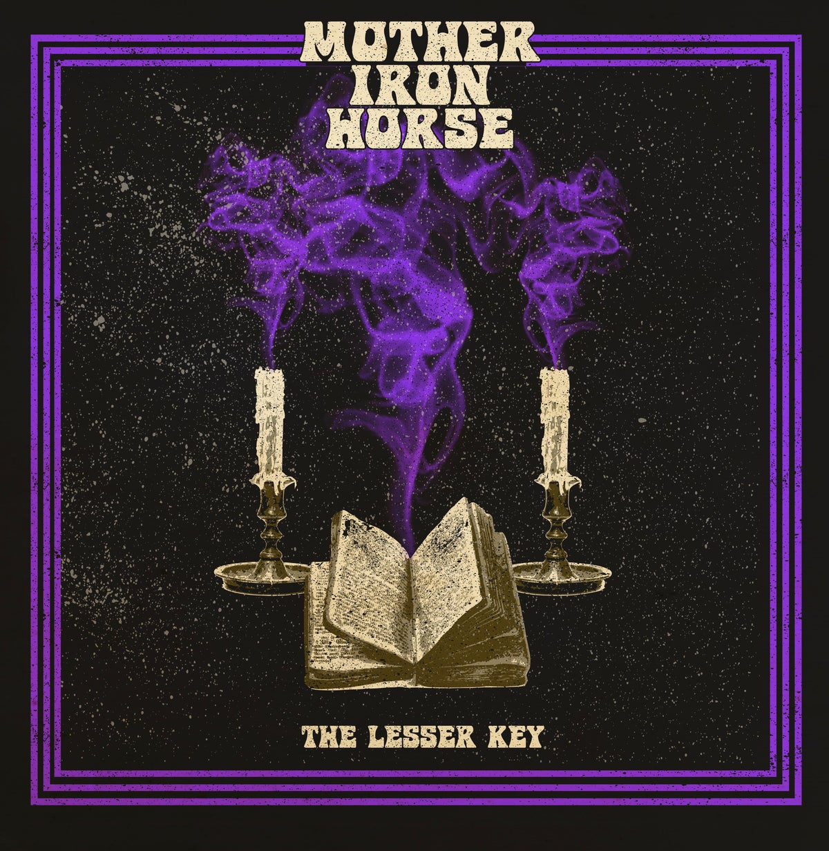 Image of MOTHER IRON HORSE - THE LESSER KEY Trasparent Purple Vinyl