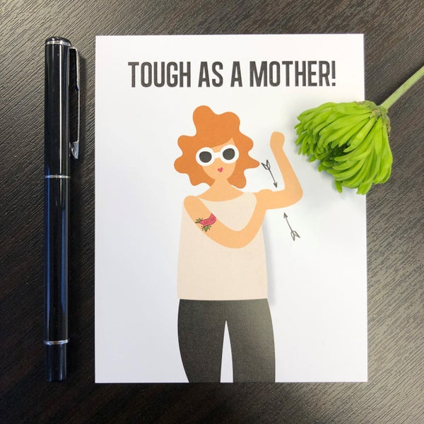 Image of Tough as a Mother Card 2