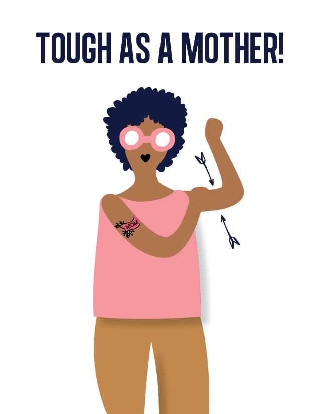 Tough as a Mother Cards