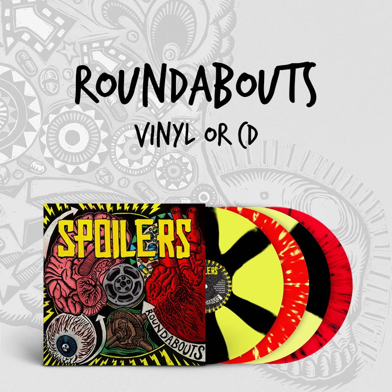 Image of Spoilers - Roundabouts Coloured Vinyl (incl Download Code) or CD