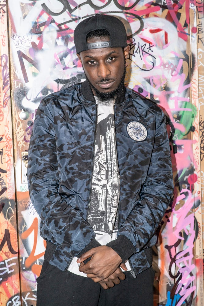 Image of Digital Camo Bomber Jacket