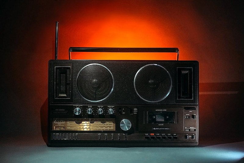 Image of GRUNDIG RR2000 BLUETOOTH BOOMBOX (1983)