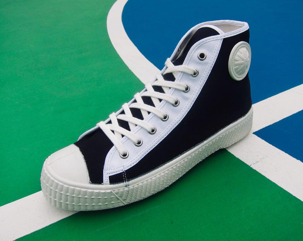 Image of ZDA Czech army trainer hi sneaker shoes made in Slovakia