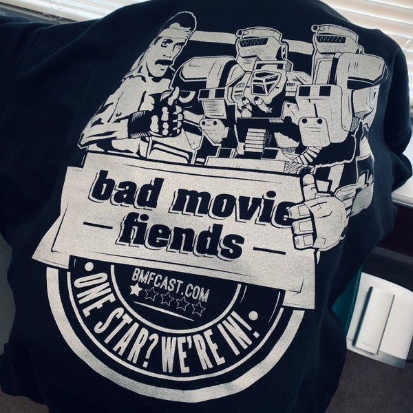 Image of Official Bad Movie Fiends Silver T-Shirt