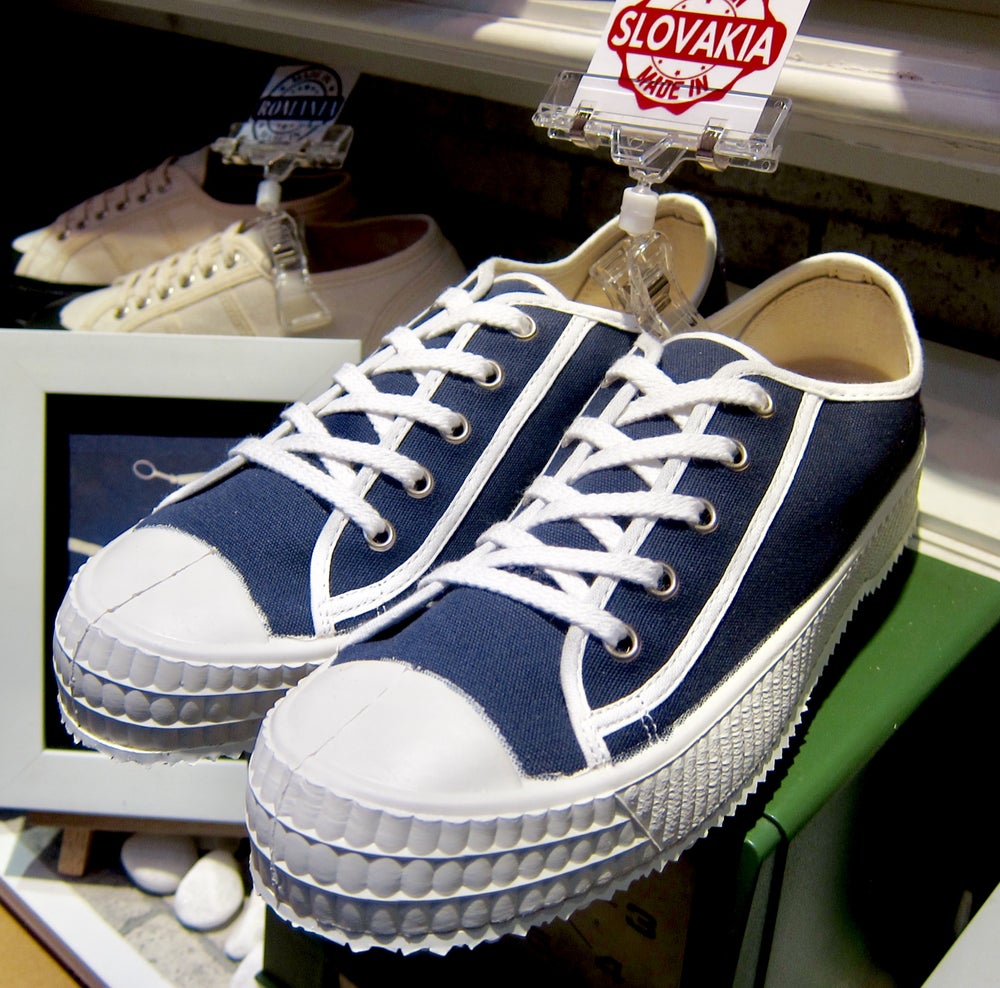 Image of ZDA Czech army trainer sneaker shoes made in Slovakia