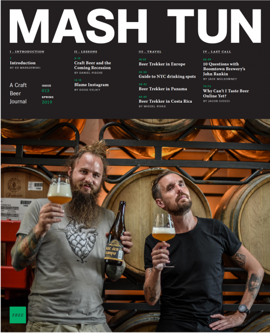 Image of Mash Tun Journal #13