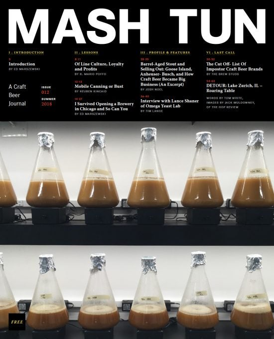 Image of Mash Tun Journal #12