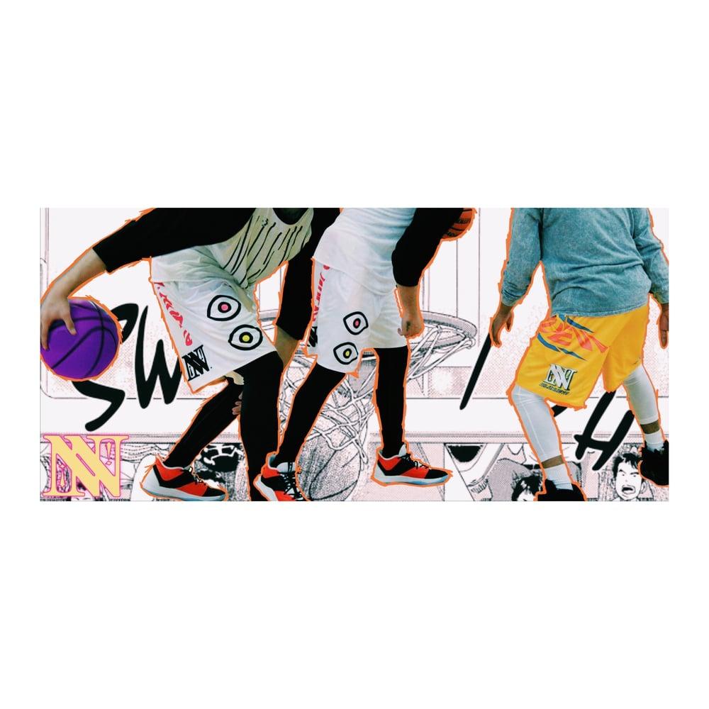 Image of [ N U E V A ] MADNESS Active shorts (reversible)