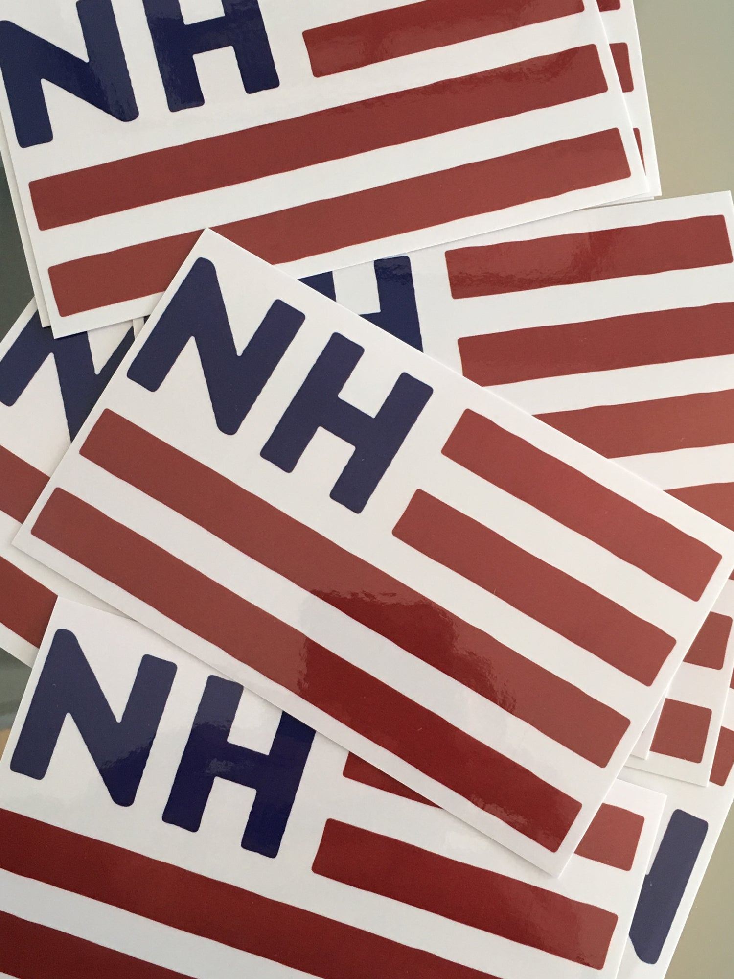 Image of NH Flag sticker