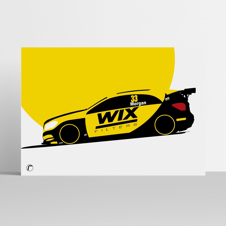 Image of WIX Racing | Adam Morgan