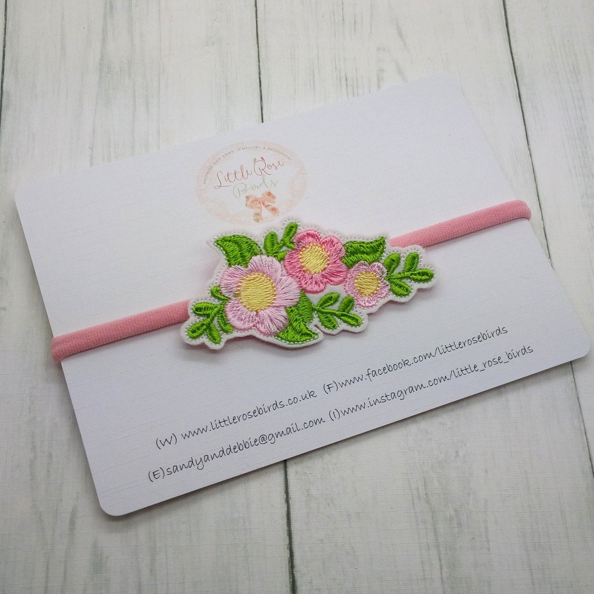 Image of Floral Bouquet Headband