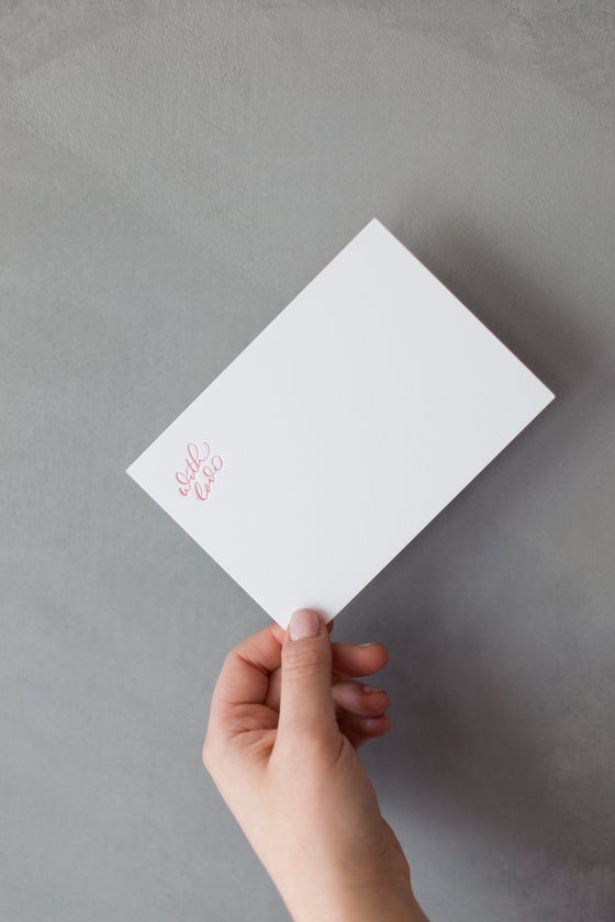 Image of With Love Notecards