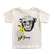 Image of KIDS - Yummy Banana Chimp T-Shirt