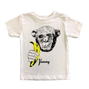 Image of KIDS - Yummy Banana Chimp T-Shirt