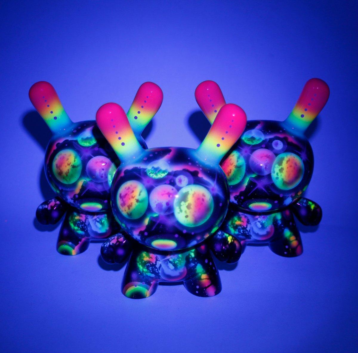 """Image of Zukaty custom Neon Galaxy 5"""" Dunny"""