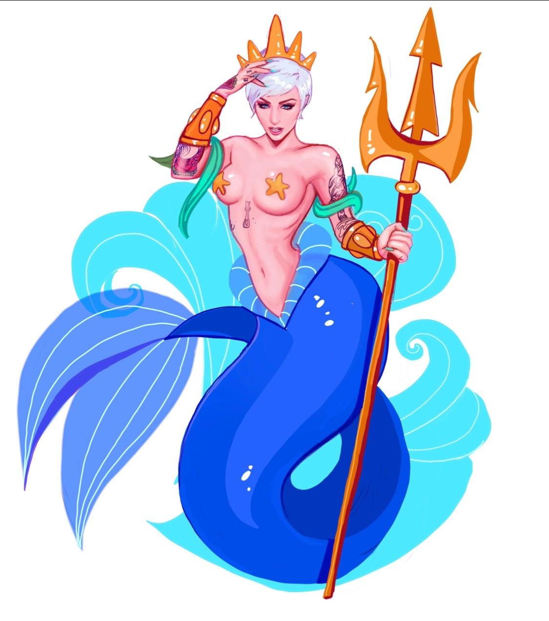 Image of Poseidon Sticker