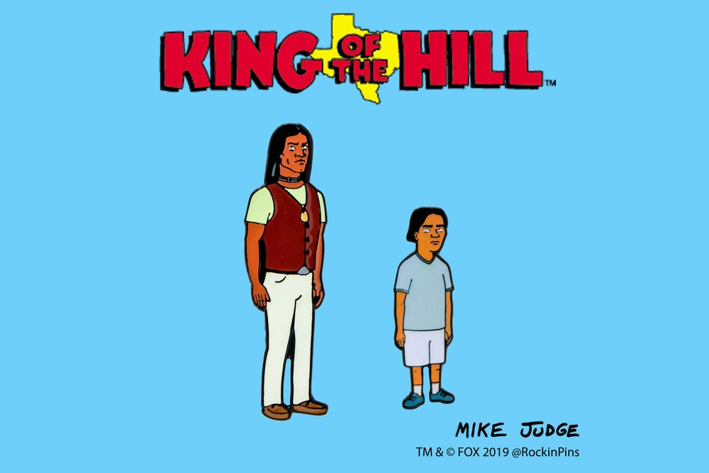 Image of King of the Hill - John Redcorn and young Joseph