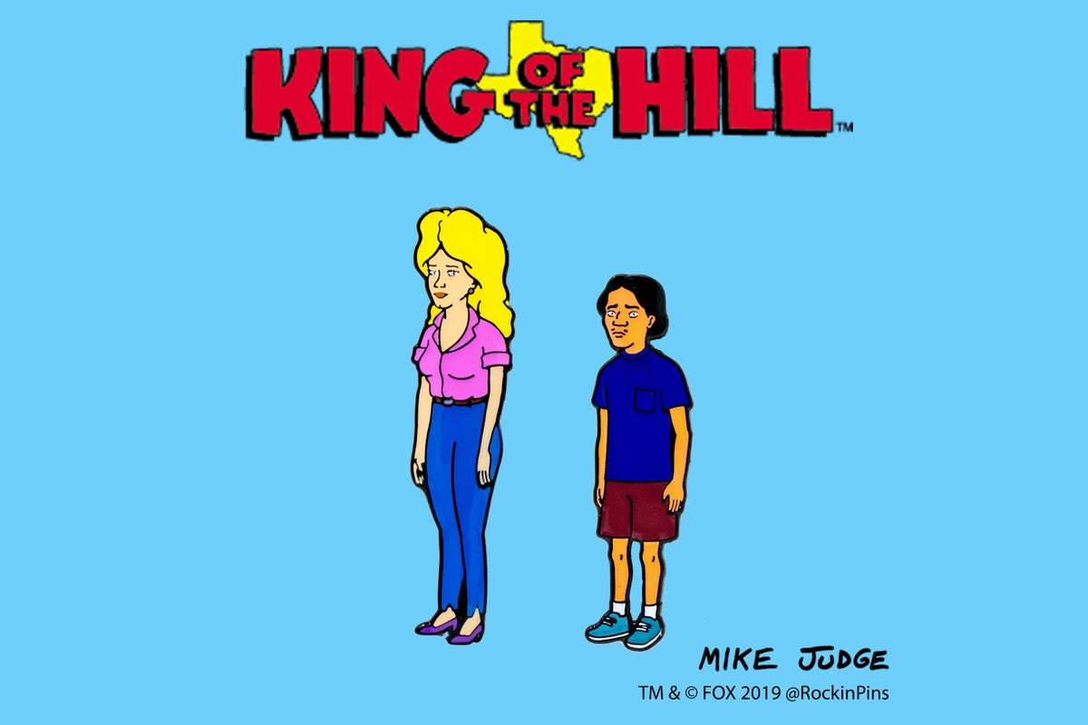 Image of King of the Hill - Nancy and Joseph Gribble