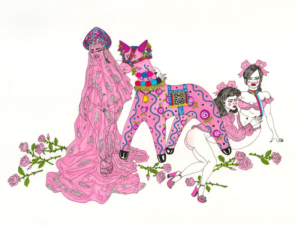 """Image of """"Always a bride, never a bridesmaid"""" PRINT"""