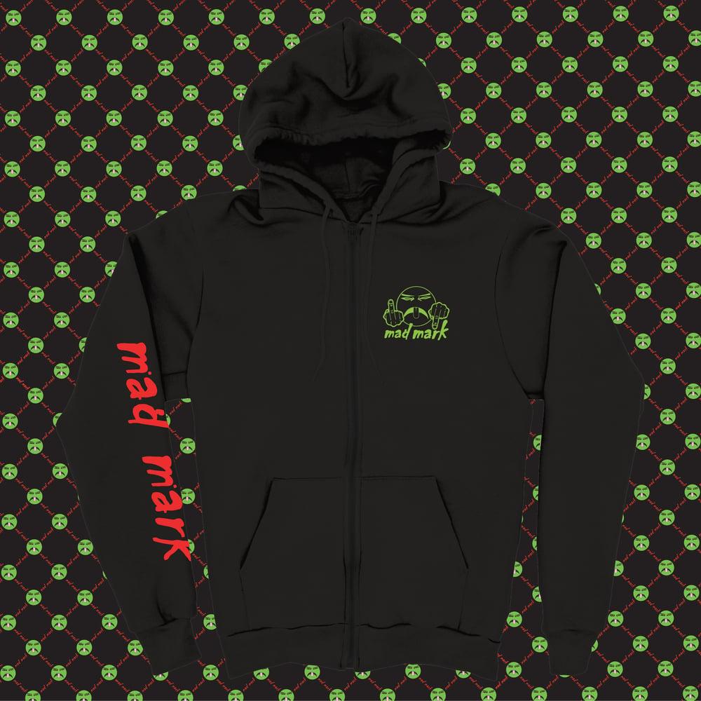 Image of no fucks hoodie black