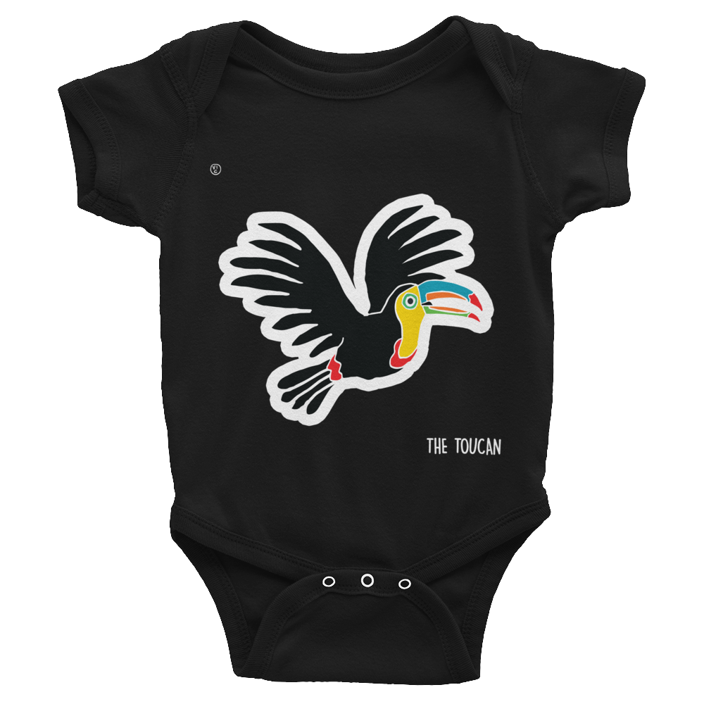 Image of Central American Birds Baby Bodysuits - BELIZE
