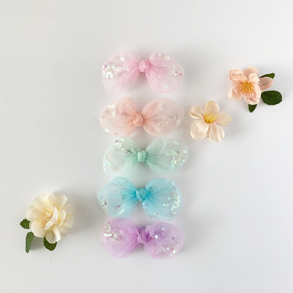 Image of Tulle Confetti Bows