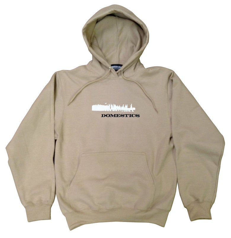 Image of DOMEstics. Soldiers Hoody (Tan)