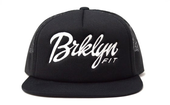 Image of Brklyn Fit® Logo - Trucker Hat