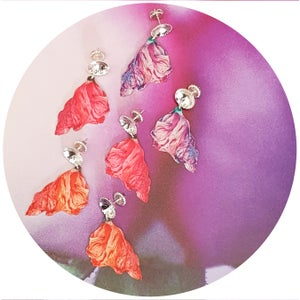 Image of Flower Power Earrings - Pink