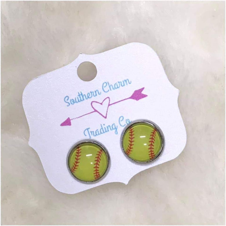 Image of Softball earrings