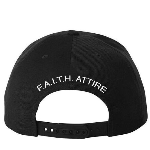 "Image of ""Care More"" Black Snapback"