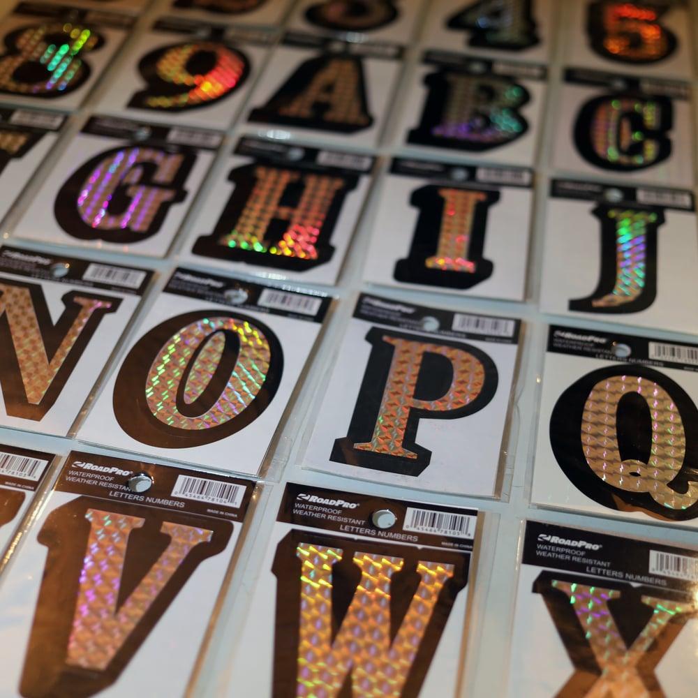 Prism Vinyl Stickers