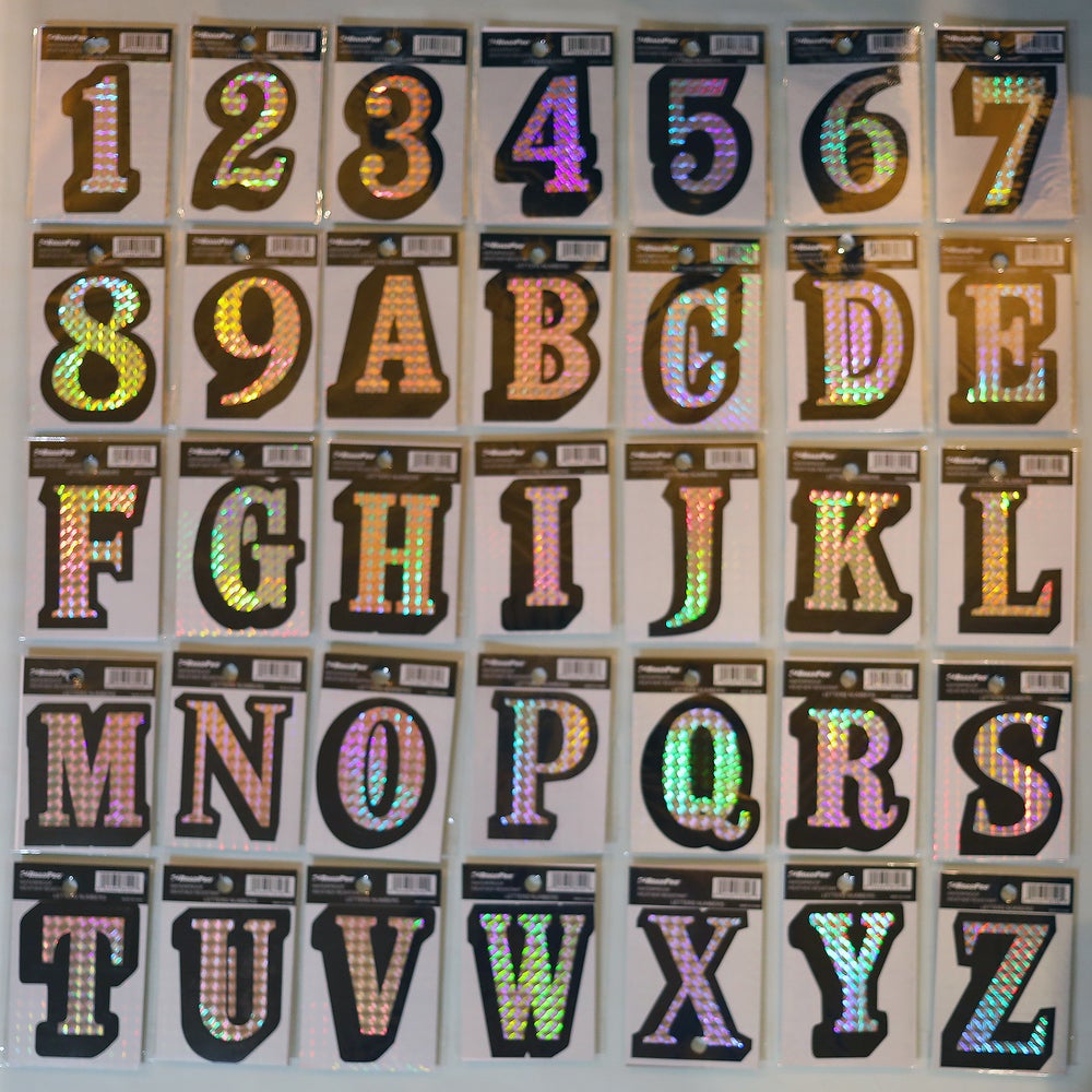 Image of Prism Vinyl Stickers
