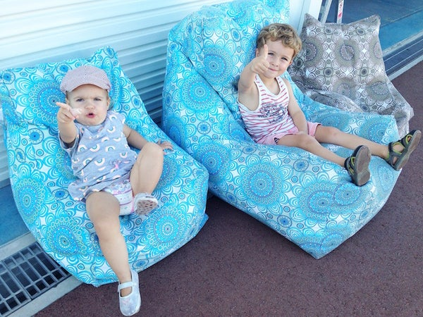 Image of Designer Bean Bags - Kids