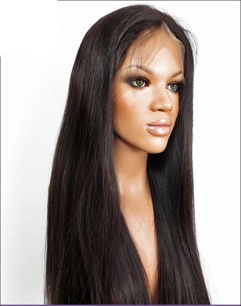 Image of Brazilian Straight 360 Full Lace Wig (130/150 Density)
