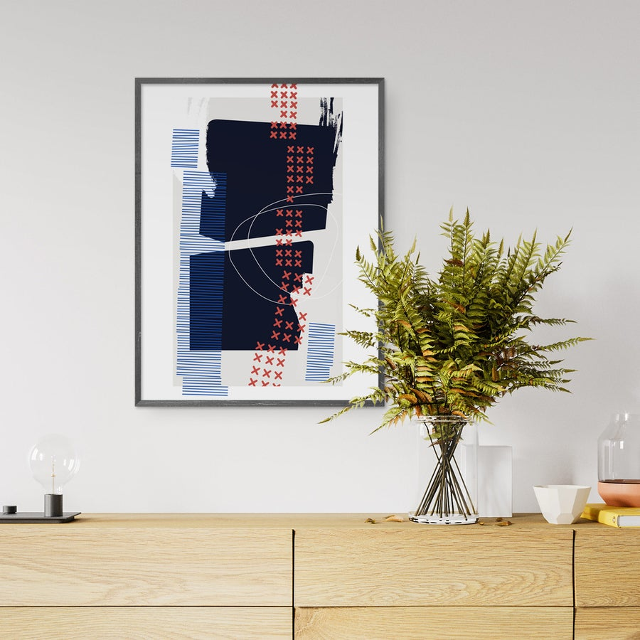 Image of Askew Art Print