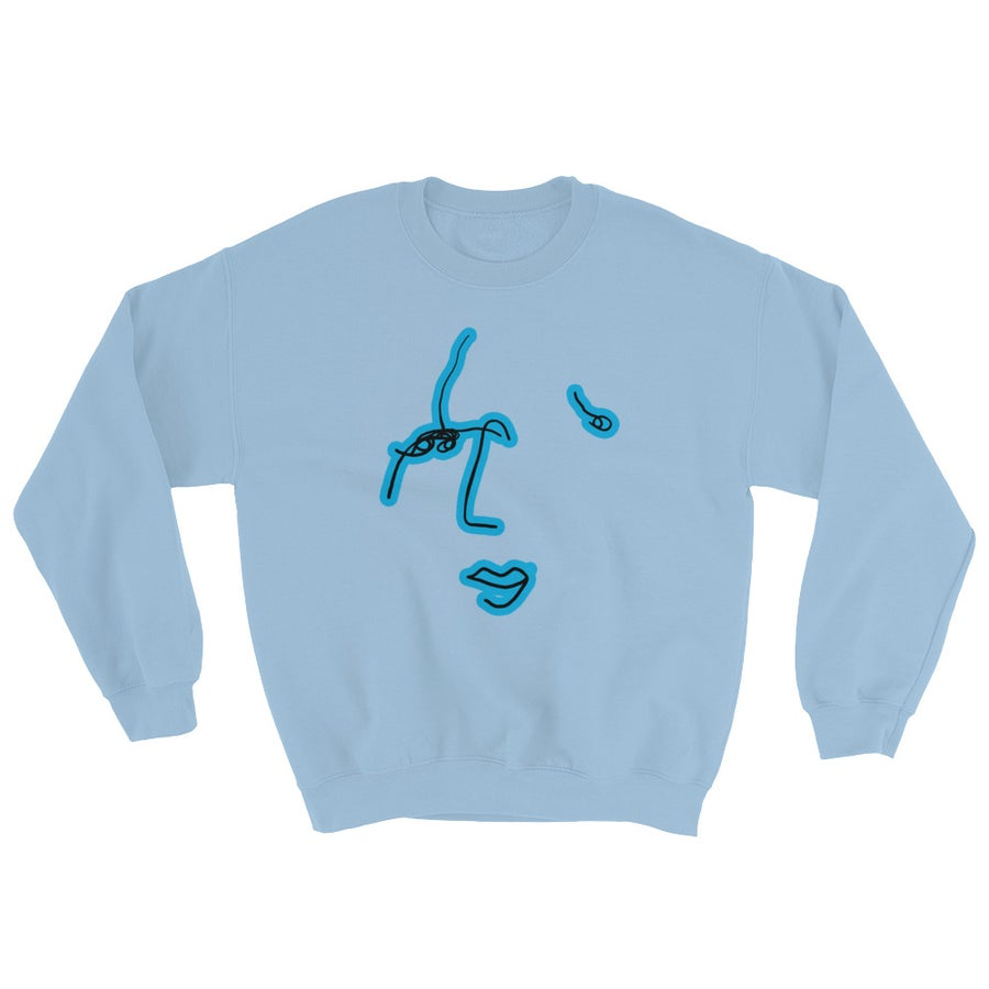 Image of Commonality Sweatshirt light Blue