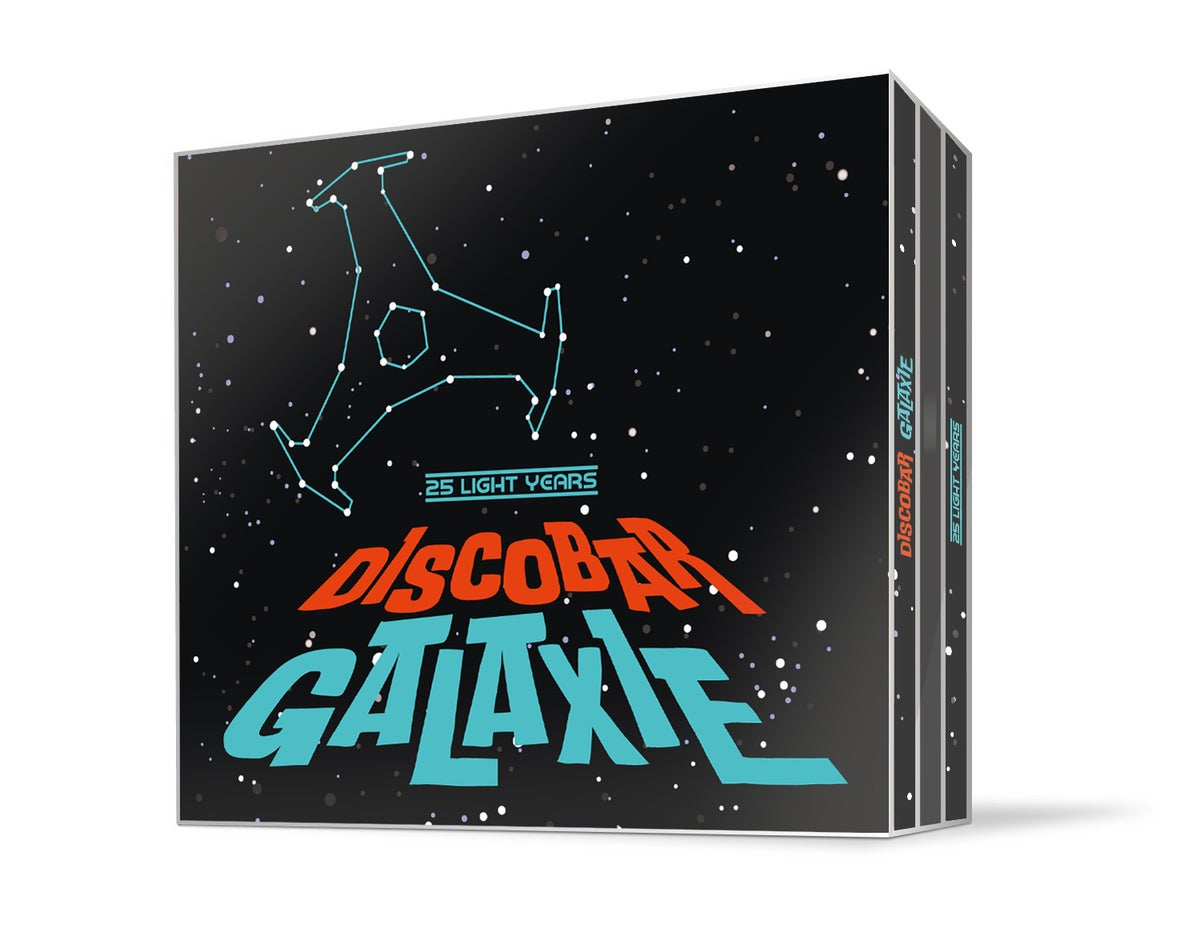 Image of VARIOUS ARTISTS - DISCOBAR GALAXIE (3CD)