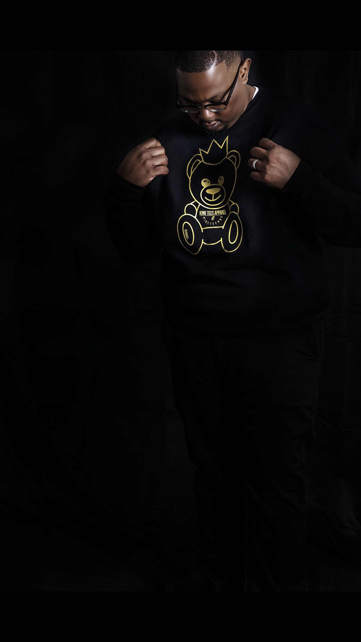 Image of Kendal fleece (gold bear )