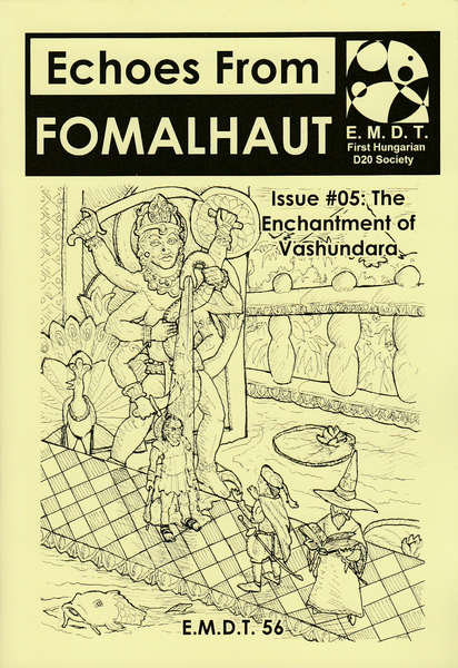 Image of Echoes From Fomalhaut #05: The Enchantment of Vashundara