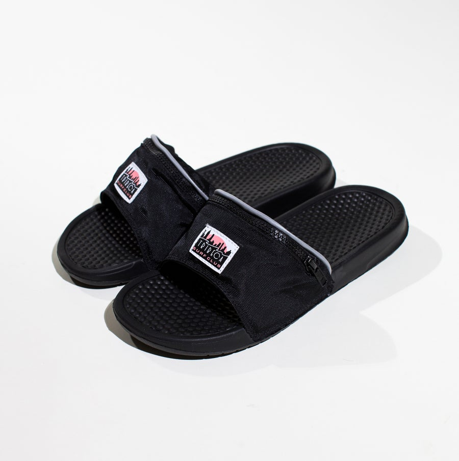 Image of POUCHED FLIP FLOPS