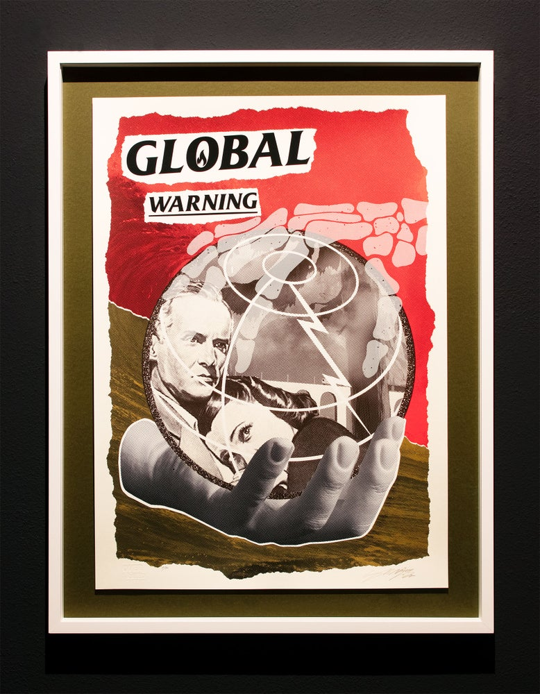 Image of NoNÅME · GLOBAL WARNING Silkscreen Edition