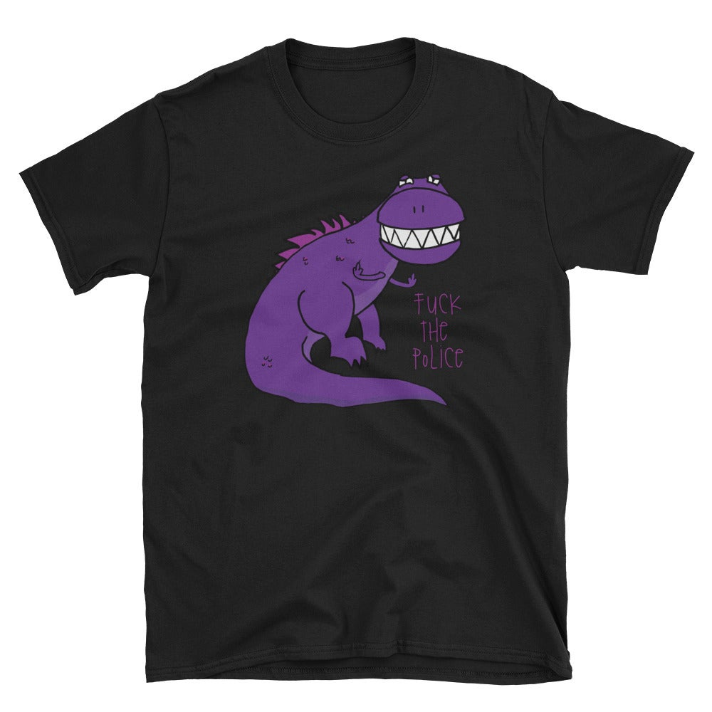 Image of Dino Fuck The Police T-Shirt