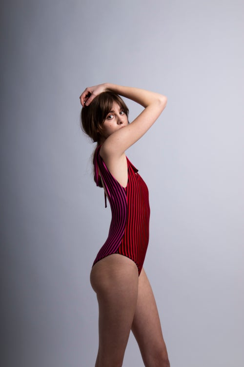 Image of Raspberry Swimdress