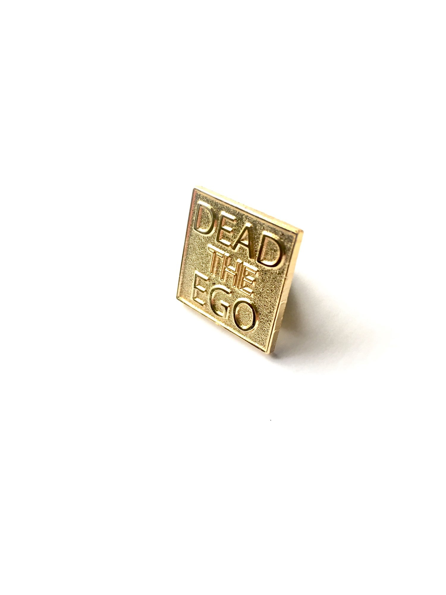 Image of KingNYC Dead The Ego Lapel Pin